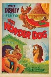 affiche poster pluto acrobate wonder dog disney