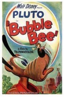 affiche poster pluto bourdon bubble bee disney