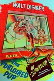 affiche pluto detective purloined pup disney