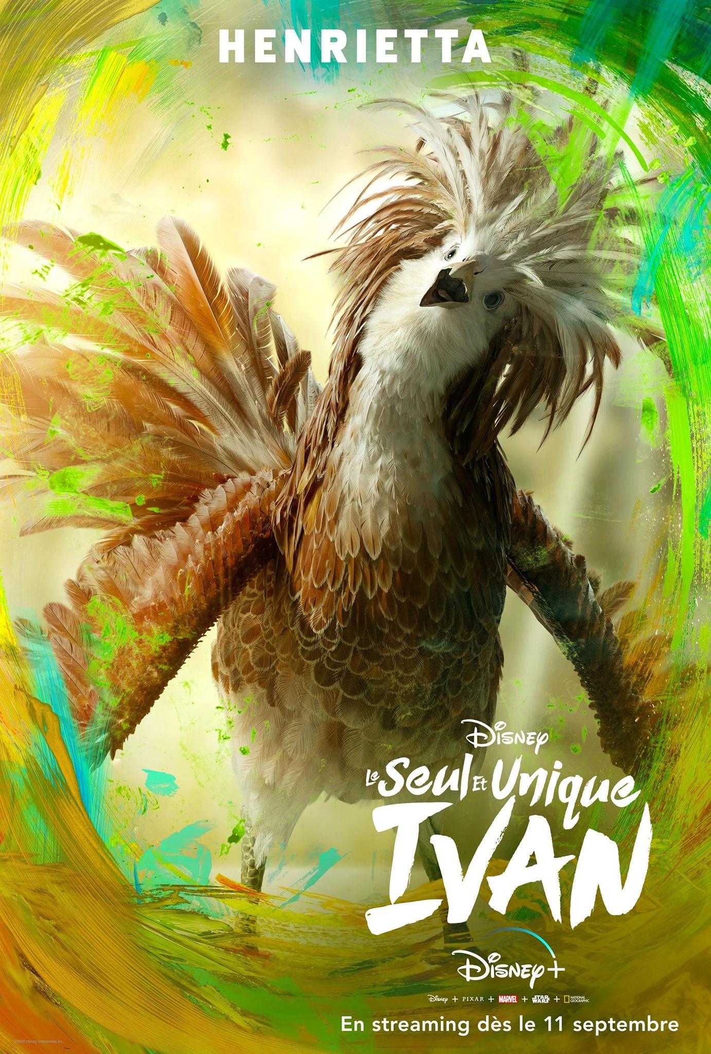 affiche poster seul unique only ivan disney