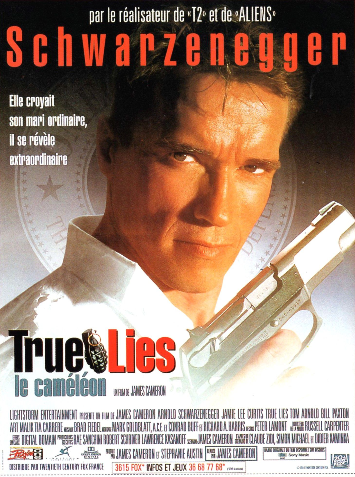 affiche poster true lies disney fox