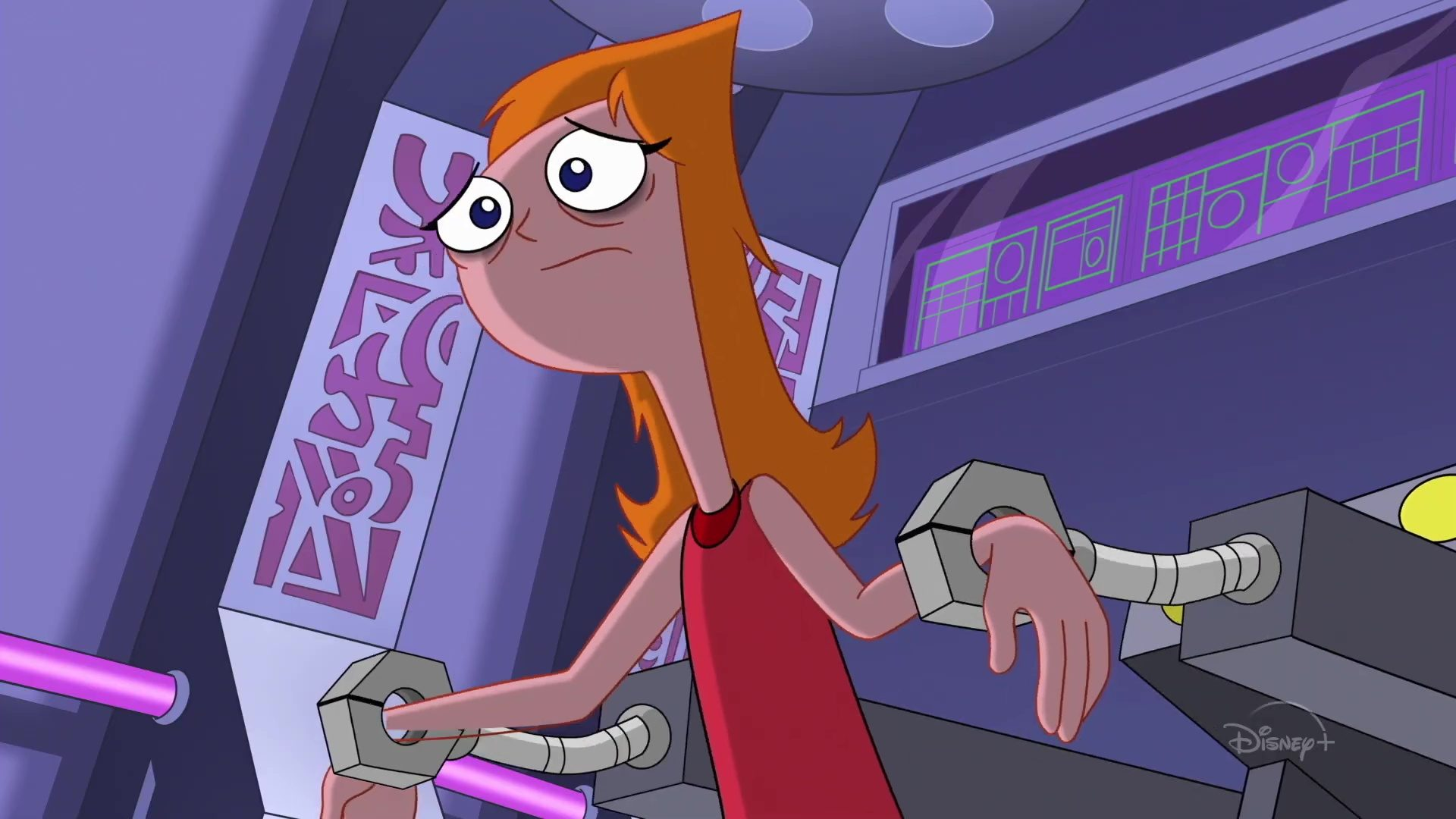image phineas ferb candice face univers against disney