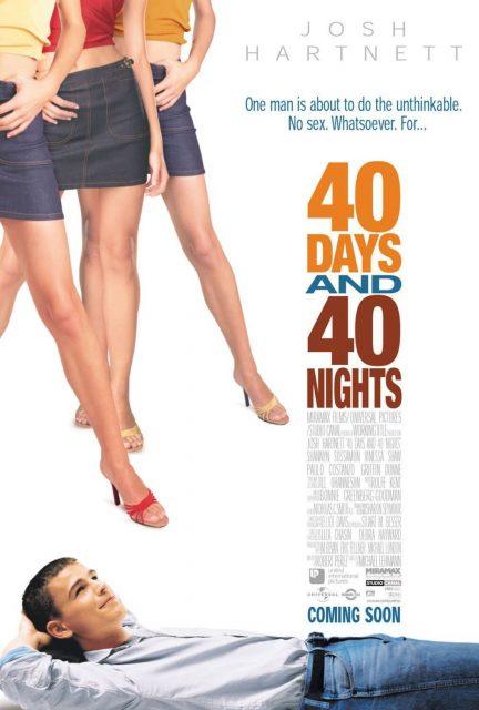 affiche poster 40 jours nuits days nights disney miramax