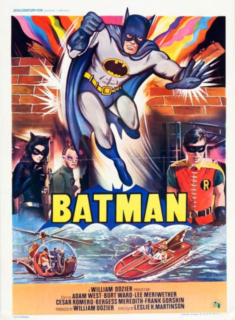 affiche poster batman disney fox