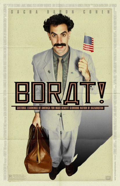 affiche poster borat disney fox