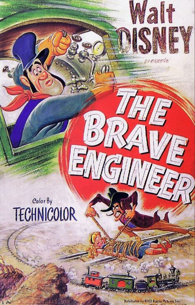 affiche poster brave engineer disney