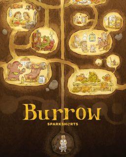 affiche poster burrow disney pixar sparkshort
