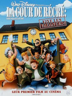 affiche poster cour récré vive vacances recess school out disney