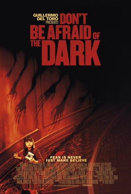 affiche poster dont be afraid dark disney miramax