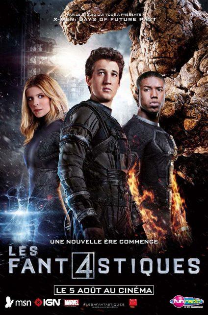 affiche poster fant4stiques four fantastic disney fox marvel