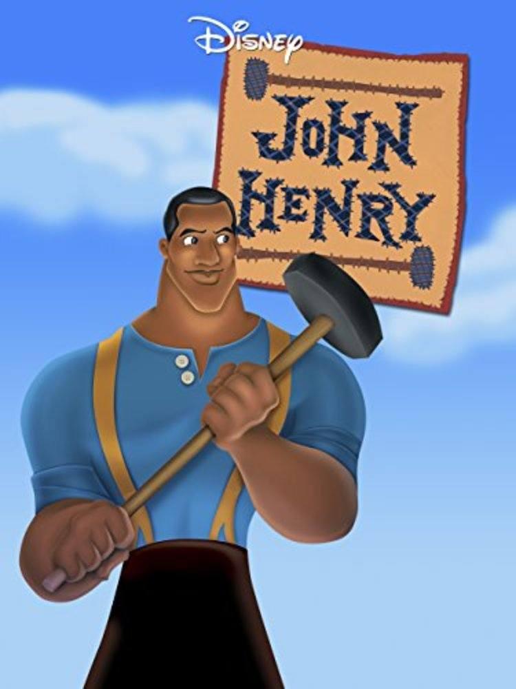 affiche poster john henry disney