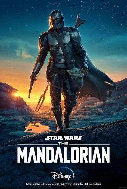 affiche poster mandalorian disney star wars