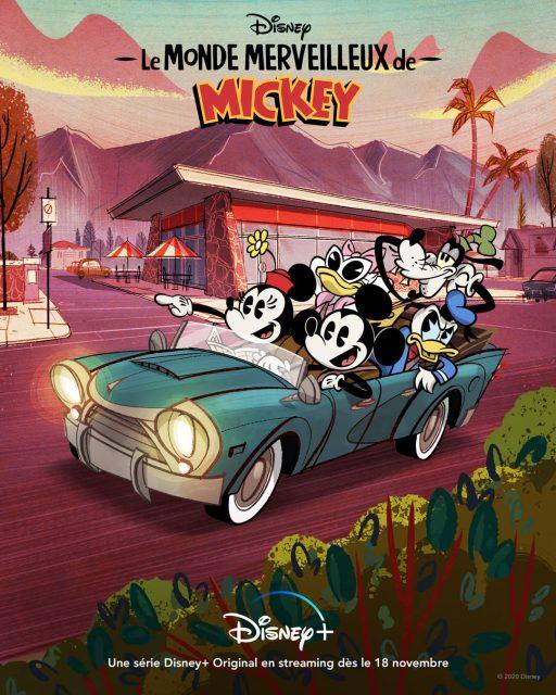 affiche poster monde merveilleux mickey mouse wonderful world disney