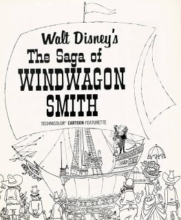 affiche poster saga windwagon smith disney