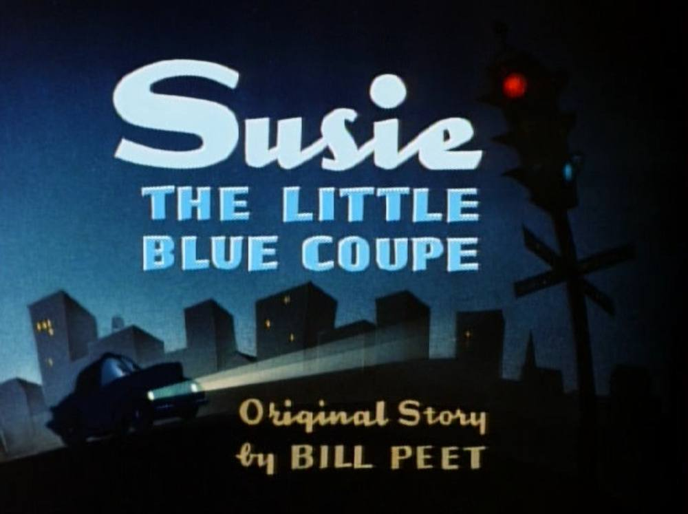 affiche poster susie petit coupe bleu little blue disney