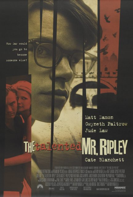 affiche poster talentueux talented mr ripley disney miramax