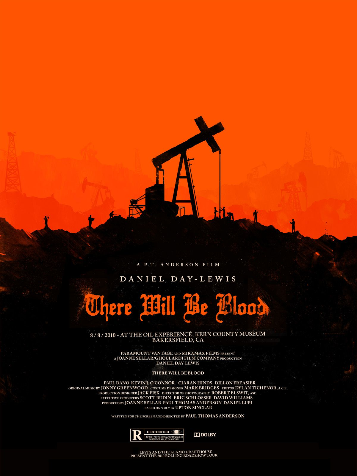 affiche poster there will be blood disney miramax