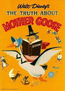 affiche poster truth about mother goose disney