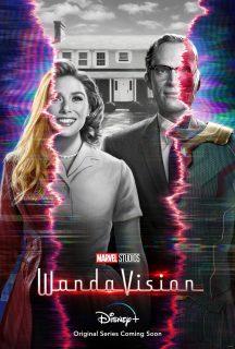 affiche poster wandavision disney marvel