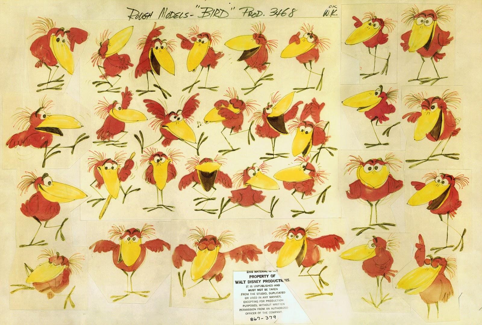artwork drôle être oiseau tough be bird disney