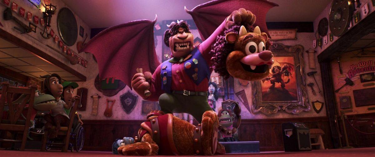 corey manticore personnage character en avant onward disney pixar