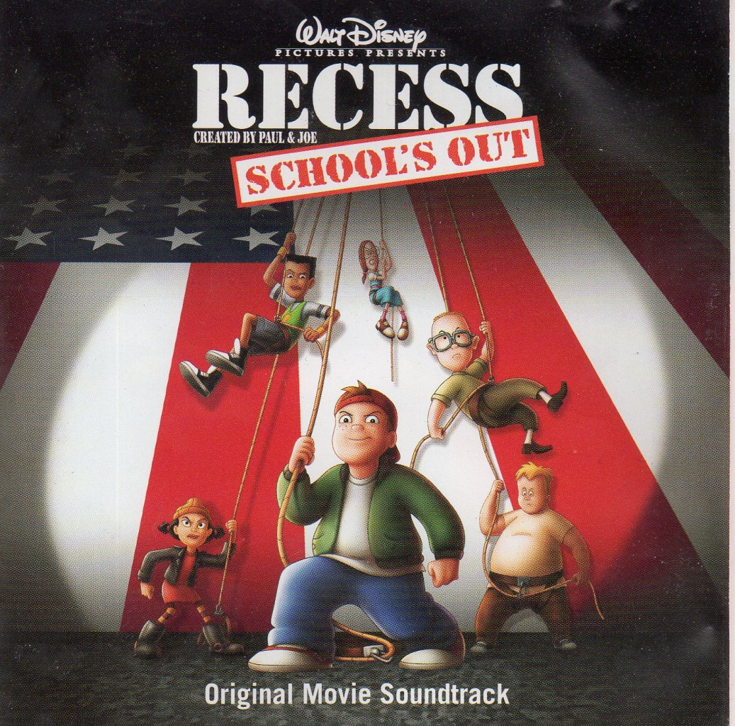 bande originale soundtrack ost score cour récré vive vacances recess school out disney