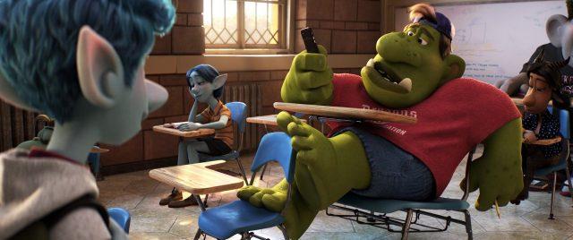 gorgamon personnage character en avant onward disney pixar