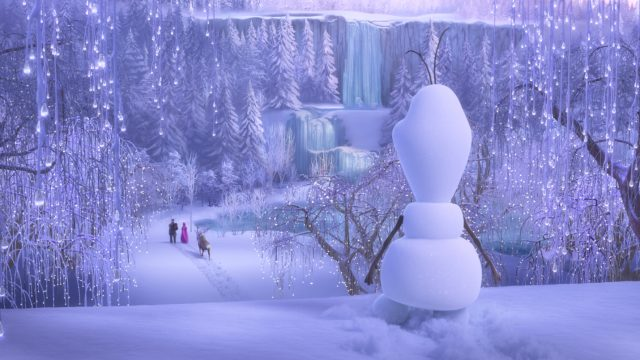 image aventures olaf once upon snowman disney