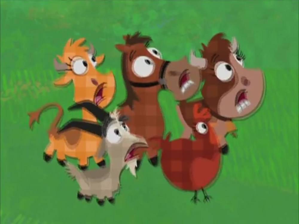 image conte ferme trois petits cochons dairy tale disney