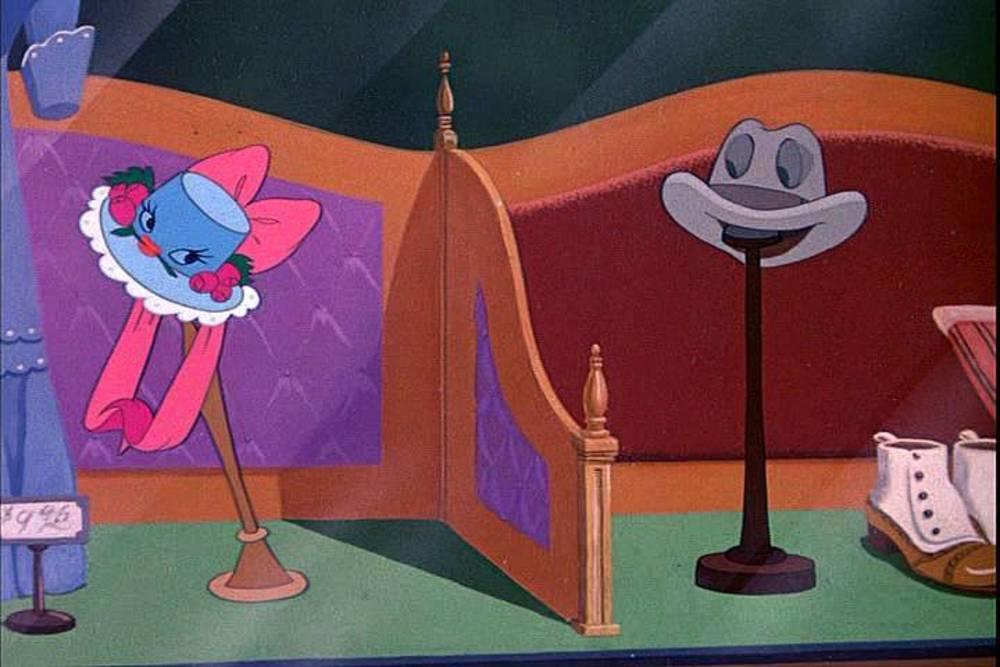 image johnny fedora alice blue bonnet disney