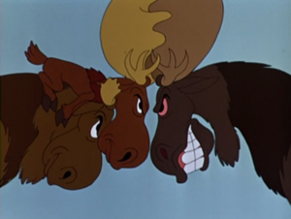 image morris petit élan midget moose disney