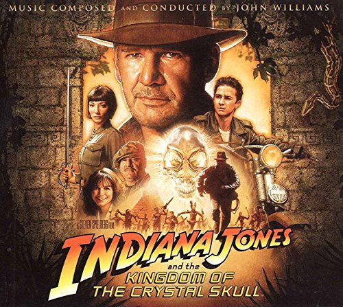 bande originale soundtrack ost score indiana jones royaumes crâne cristal kingdom skull disney lucasfilm