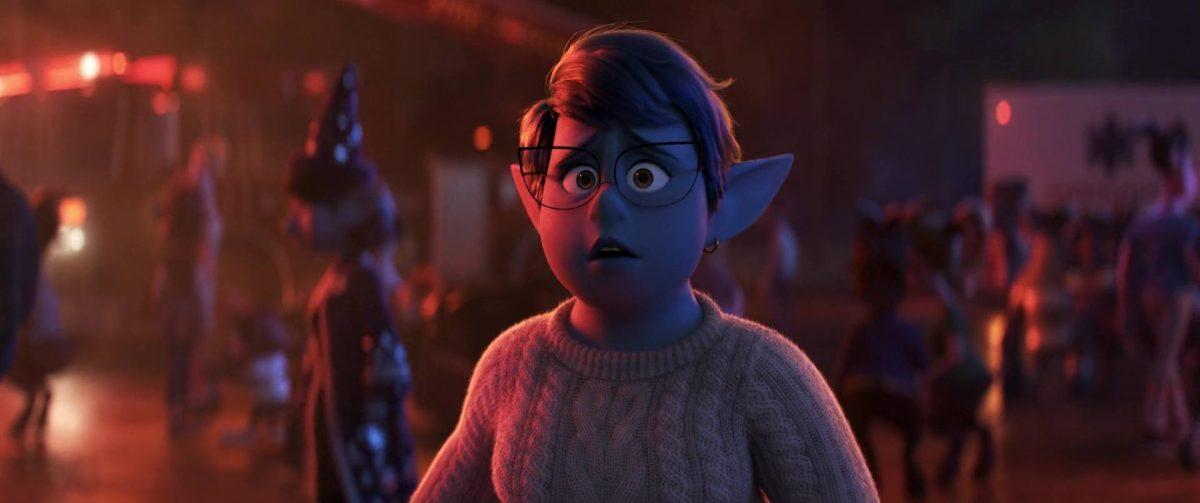 laurel lightfoot personnage character en avant onward disney pixar