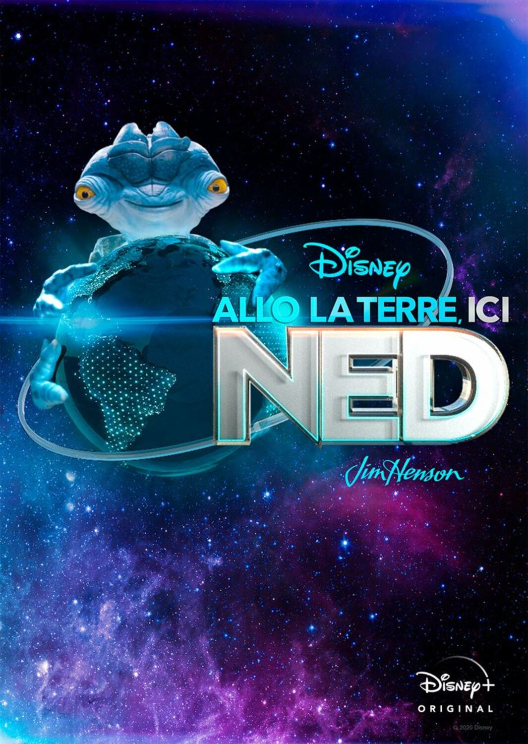 affiche poster allo terre earth ned disney