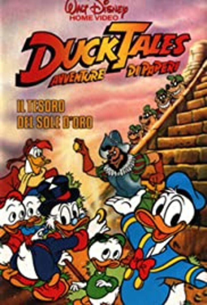 affiche poster bande picsou trésor vallée soleil or ducktales treasure golden suns disney