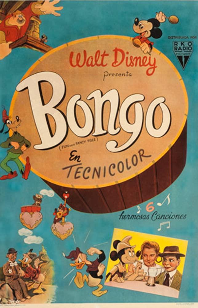 affiche poster bongo roi cirque disney