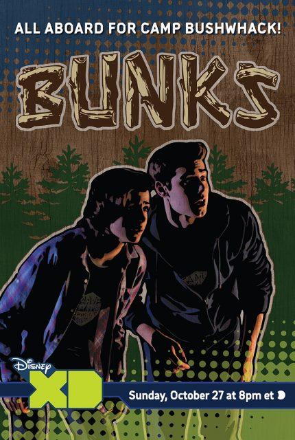 affiche poster bunks zombie disney