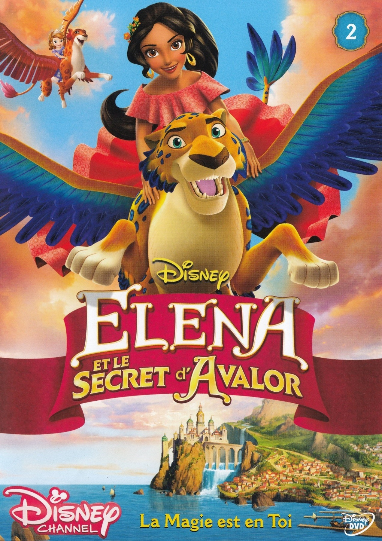 affiche poster elena secret avalor disney
