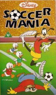 affiche poster footmania dingo football soccer goofy disney