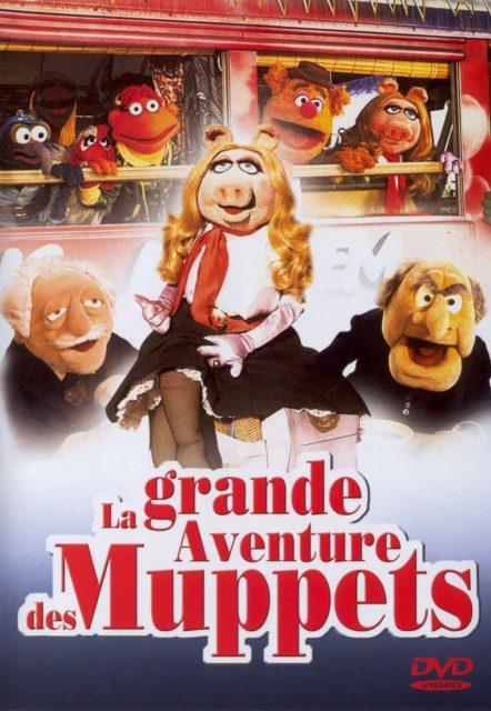 affiche poster grande aventure muppets great caper disney