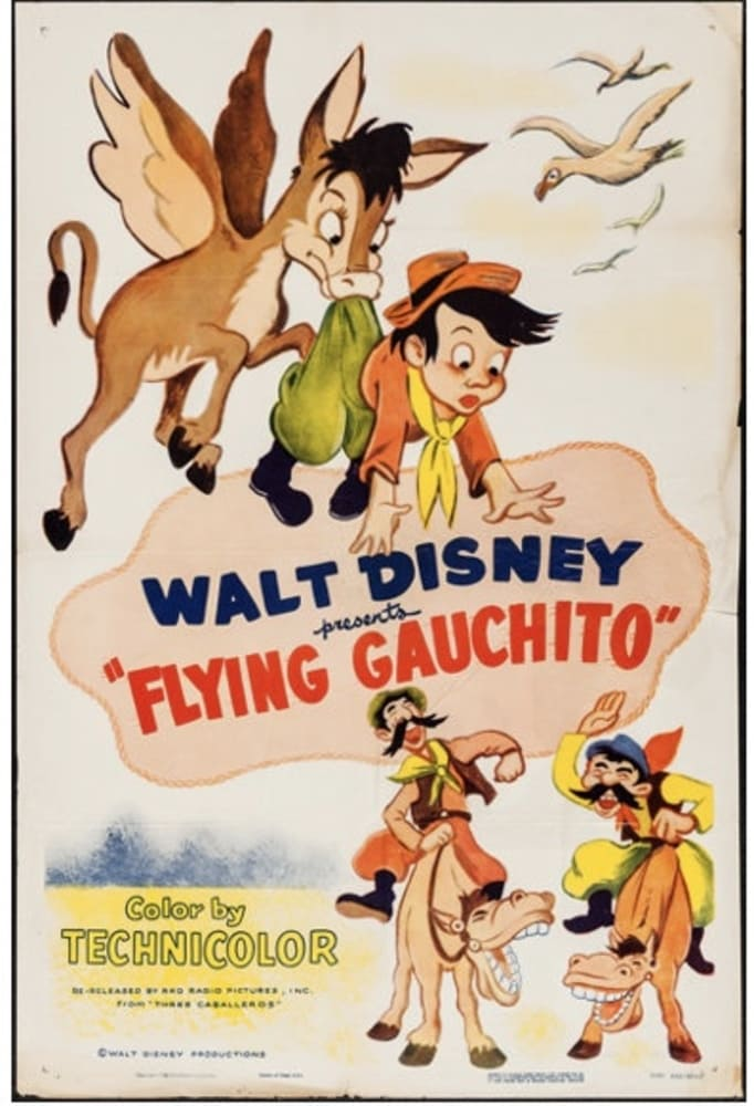 affiche poster histoire gauchito volant flying disney
