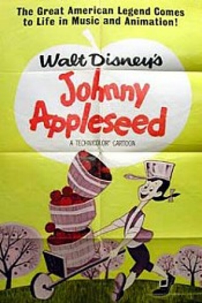 affiche poster johnny pepin pomme appleseed disney