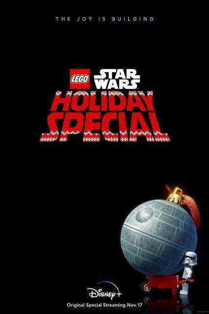 affiche poster lego star wars joyeuses fetes holidays special disney