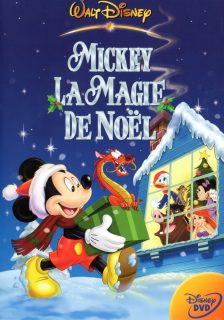 affiche poster mickey magie noel magical christmas disney