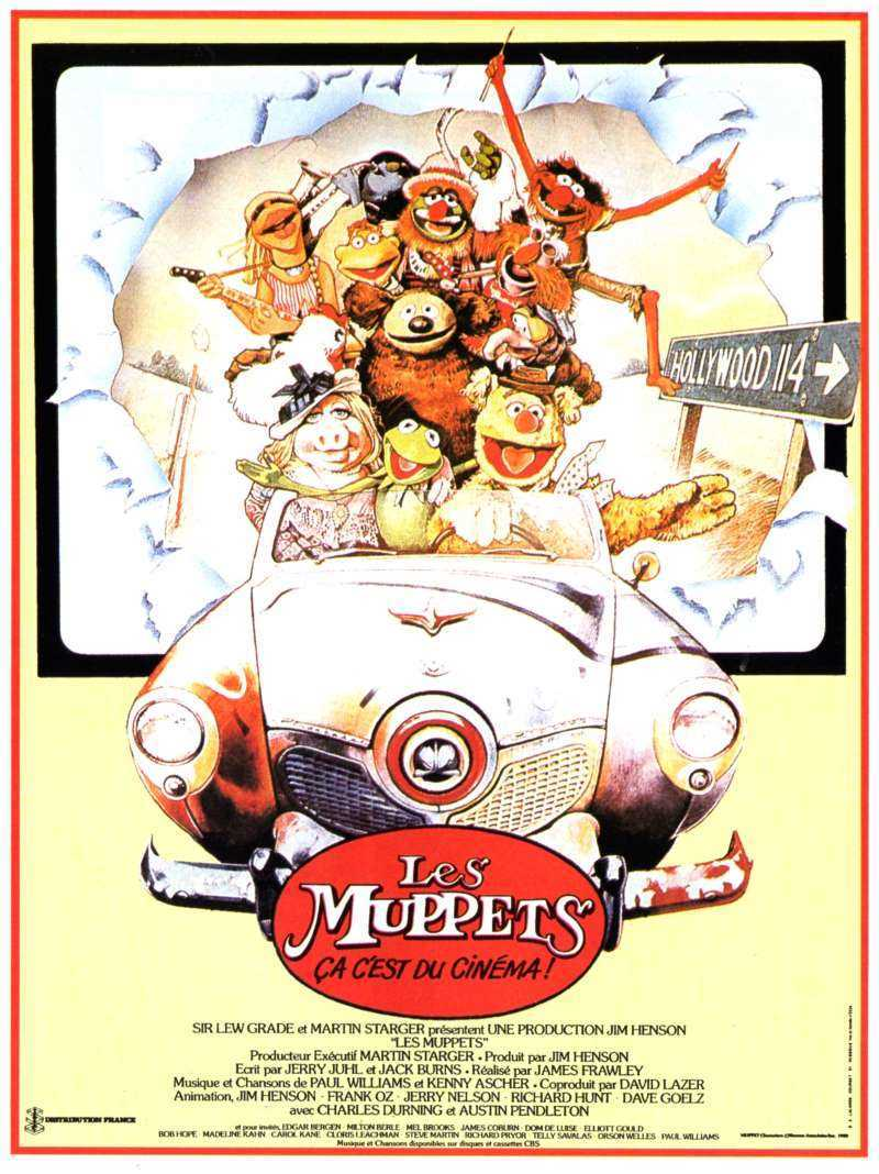 affiche poster muppets film movie cinema disney