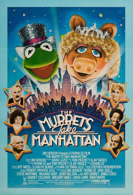 affiche poster muppets manhattan disney