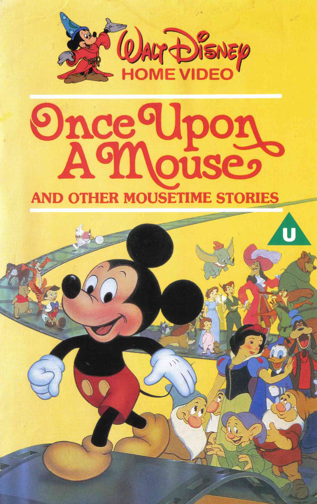 affiche poser once upon mouse disney
