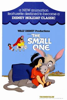 affiche poster petit ane bethleem small one disney