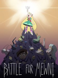 affiche poster star butterfly combat miouni forces evil battle mewni disney