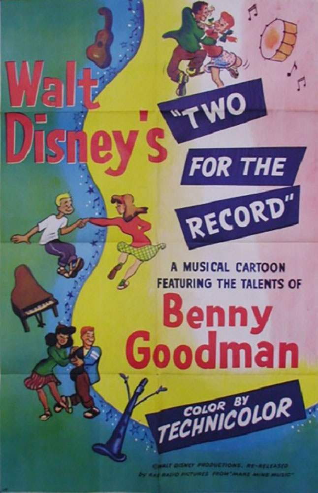 affiche poster two record disney